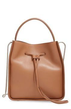3 1 Phillip Lim Small Soleil Leather Bucket Bag Available At Nordstrom Shoulder Strap