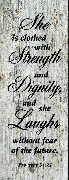 Strength, Dignity & Laughs