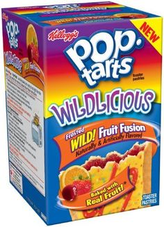 Kellogg's Pop-Tart Wildlicious Wild Fruit Fusion Toasted Pastries, 14.1-Ounce (Pack of 6) by Pop-Tarts, http://www.amazon.com/dp/B006BXUY6A/ref=cm_sw_r_pi_dp_ysGJrb0CP9BDB
