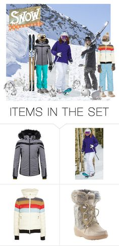 """Snow Bunnies"" by alzjunkyard ❤ liked on Polyvore featuring art"