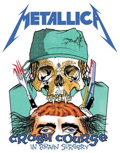 Metallica first became aware of the work of artist Brian 'Pushead' Schroeder thanks to his work with US punk bands such as Misfits and Necros alongside his contributions to Thrasher Magazine. In 1986 they commissioned Pushead to create artwork for their Damage Inc,. tour, initiating a relationship which continues to this day. This artwork actually featured on an ultra-rare Metallica promo item, a surgical smock, released in 1987: only 300 were ever made, and the item was solely available to…
