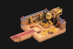 Desert Dungeon Treasure, zachary soares on ArtStation at…