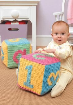 Crochet baby toy blocks hook it pinterest crochet baby toys giggles grins ebook fandeluxe Choice Image