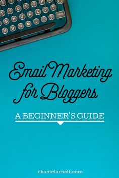 Are you a blogger that's clueless about email marketing? You know you NEED to build a list, but you're not sure why or how... Read this Beginner's Guide!