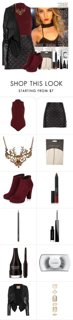 """""""Formal Dinner + Club"""" by perrieinthemix ❤ liked on Polyvore featuring mode, Robert Rodriguez, Ruby Rocks, Topshop, NARS Cosmetics, MAC Cosmetics, Givenchy, Revlon, Max Azria et Accessorize"""