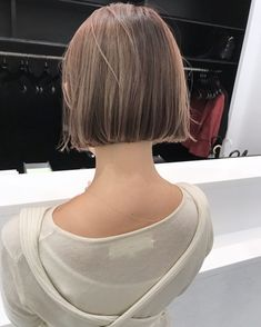 Pin on ヘアスタイル Girl Short Hair, Short Hair Cuts, Short Hair Styles, Asian Bob Haircut, Growing Out Pixie Cut, Peekaboo Hair, Mullet Hairstyle, Hair Arrange, Hair Day