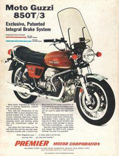 Moto Guzzi 850T | speedfourjoe | Flickr Moto Guzzi 850, Moto Guzzi Motorcycles, Guzzi V7, Moto Bike, Cool Motorcycles, Vintage Motorcycles, Classic Motors, Classic Bikes, Motorcycle Posters