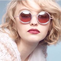 Lilly Rose Depp for Chanel by Karl Lagerfeld  l