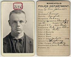 Prisoner No 3196 - Victorian Mug Shot Minneapolis - Vintage CDV Bertillon Photo - Antique Mugshot - Swedish - RESERVED for Sherwood Donahue via Etsy