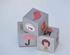 Artesanato e Reciclagem com papel - Dados para contar histórias