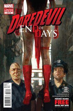 Daredevil: End of Days # 3 by Alex Maleev