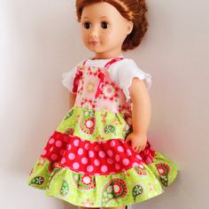Twirl knot dress for AG doll