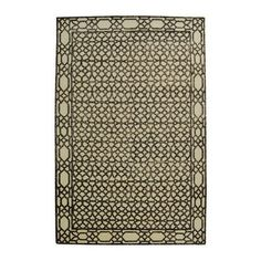 classic rug in ebony