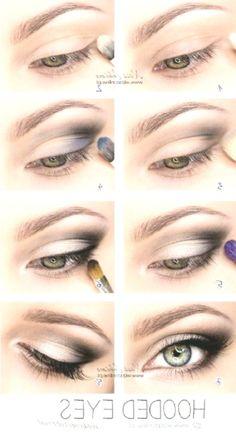 Top 10 Einfache Make-up-Tutorials für Augen mit Kapuze Top 10 Simple Makeup Tutorials for Hooded Eyes … Best Eyeshadow, How To Apply Eyeshadow, Eyeshadow Makeup, Pretty Eye Makeup, Pretty Eyes, Simple Makeup, Hooded Eyelids, Hooded Eye Makeup, Make Up Tutorials
