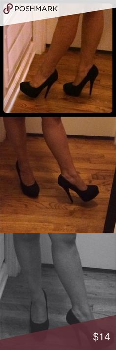 Platform high heels You are purchasing a good condition pair of women's high heels.Brash stilettos heels brash Shoes Platforms