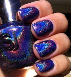 Nails, Nail Polish, Nail Art / Glam Polish: BSJ Holo #13