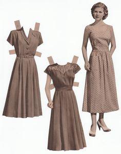 Catalog doll #3, 1940s
