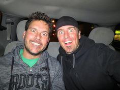 Ryan Peake and Daniel Adair , both from the band Nickelback !