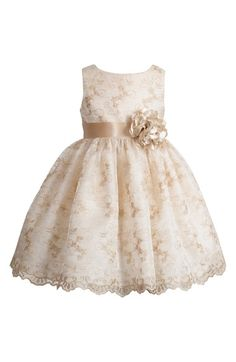 Kleinfeld Pink 'Leela' Sleeveless Dress (Baby Girls) at Nordstrom.com. - main stream flower girl dresses are expensive