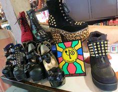 Harajuku, Tokyo has a BUNNY cafe called Raagf.    - I took Susan Holmes, Duff McKagan (Guns n Roses, Velvet Revolver, Loaded) & family on a Harajuku shopping tour.   - Do you like my Alice in Wonderland outfit?? See pics:    http://www.lacarmina.com/blog/2013/03/harajuku-bunny-cafe-duff-mckagan-tokyo-cute-boutiques-shops-laforet/ yosuke shoes, goth punk boots, leopard print studded shoes, gothic studded boots, rocker boots