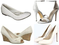 Flats - Target $19.98, Wedges - Famous Footwear $25.00, Sandals - 6PM $29.99, & Pumps - Boohoo $44.00.