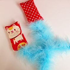 DIY pet toys - avoid bits that your pets may chew off and swallow.