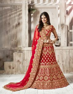 Looking to Buy Lehenga Online: Buy Indian lehenga choli online for brides at best price from Andaaz Fashion. Choose from a wide range of latest lehenga choli designs. * Express delivery, Shop Now! Bridal Lehenga Online, Designer Bridal Lehenga, Lehenga Choli Online, Bridal Lehenga Choli, Indian Lehenga, Net Lehenga, Lehenga Wedding, Punjabi Wedding, Anarkali