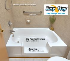 Miracle Method is rapidly gaining a reputation as the Bathing Safety Experts. We provide upgrades designed to help the elderly and mobility impaired gain independence while bathing. Contact us today for an in-home consultation. Tub, Refinished, Tub Refinishing, Bathroom Rennovation, Tub To Shower Conversion, Resurface Countertops, Tile Bathroom, Refinish Bathtub, Bathtub