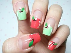 Sweet Korean Nail Art | Dezign Darling - korea nail art 2012