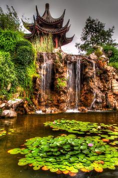 Garden behind Pan Men in Suzhou, China.