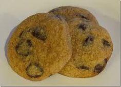 banana choc almond cookie