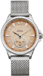 Bulova Adventurer Womens Quartz Stainless Steel Watch 96L134 * Read more reviews of the product by visiting the link on the image.