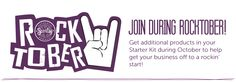 JOIN my team during ROCKTOBER!! #Scentsy