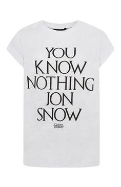 Game Of Thrones Slogan T- Shirt