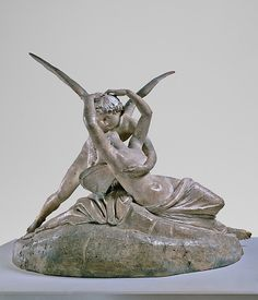 Antonio Canova (Italian, 1757–1822). Cupid and Psyche, 1794. The Metropolitan Museum of Art, New York.Gift of Isidor Straus, 1905 (05.46).