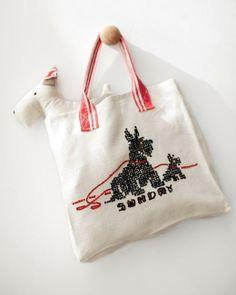 Tea Towel Tote Bag How-To