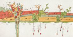 #autunno 2015 - #acquerelli #watercolor - #orestesabadin
