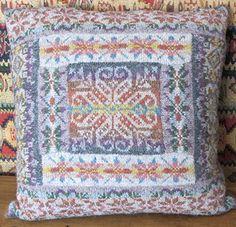 Fairisle Patch Cushion Kit