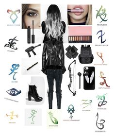 """""""Jami Lightwood. Younger sibling from Isabelle and Alec Lightwood"""" by mary-1804 on Polyvore featuring Wella, ZOEVA, Alexander McQueen, Stele, Forever 21, Casetify, Rune NYC and Black"""