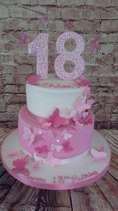 49 Best 18th Birthday Cake For Girls Images Fondant Cakes