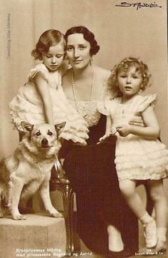 Crown Princess Martha of Norway and her children