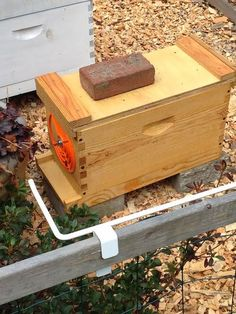An explanation for new beekeepers on how to split a hive without a queen for the new hive.