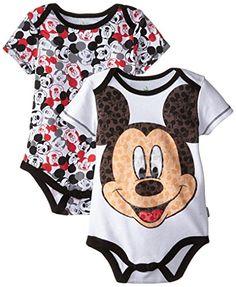 Disney Baby Baby-Boys Newborn Mickey Mouse 2 Pack Bodysuit-Big Guy, White, 3-6 Months Disney http://www.amazon.com/dp/B00Y7YCD9G/ref=cm_sw_r_pi_dp_GLWbwb1X07T34