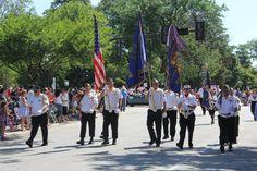 july 4th parade wheaton