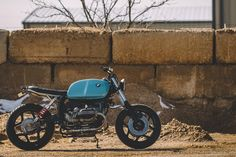 RetroMoto BMW R100 Scrambler ~ Return of the Cafe Racers