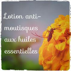 Fabriquez votre lotion anti-moustiques avec des huiles essentielles répulsives. Cette recette de répulsif home-made est simple comme tout!