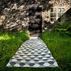 Tapis Storm - Charcoal - Fossil Grey Pappelina JardinChic