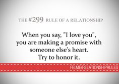 Relationship Rules added a new photo. Say I Love You, What Is Love, My Love, Quotes About Love And Relationships, Relationship Rules, Life Advice, Good Advice, Three Words, Wise Words