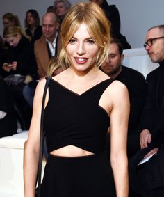 """Sienna Miller on Ralph Lauren's Fall 2016 Show: """"There Are So Many Pieces I Keep Thinking About"""" from InStyle.com"""
