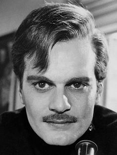 """Omar Sharif, """"Dr. Zhivago"""".  I like his physical appearance and his vulnerability."""